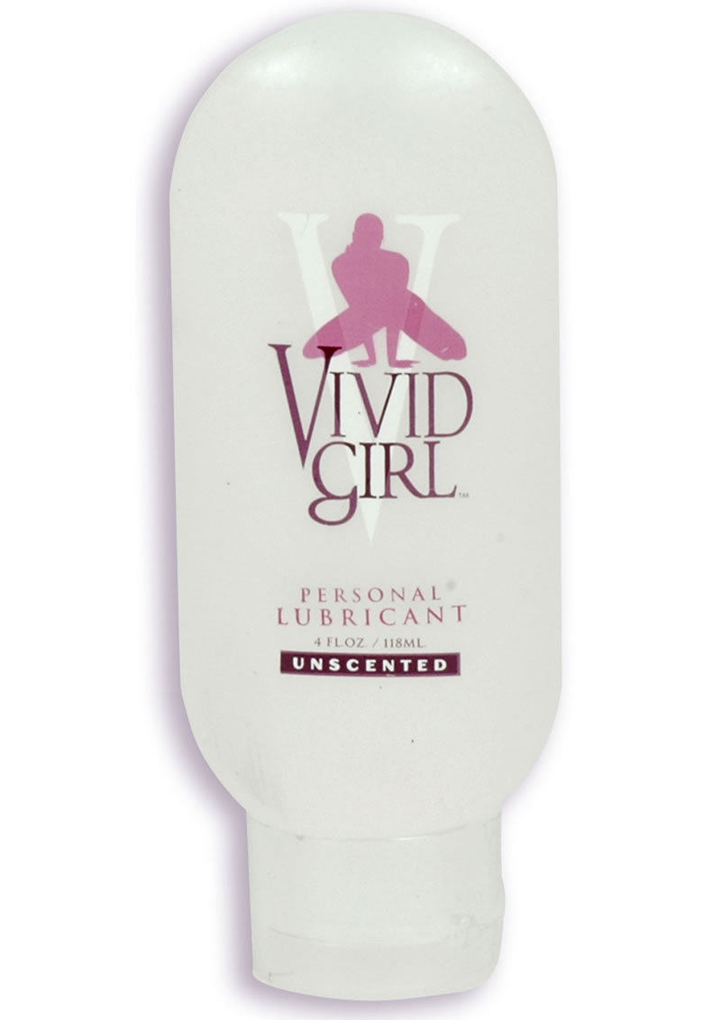 Vivid Girl Silicone Based Lubricant Unscented 4 Ounce