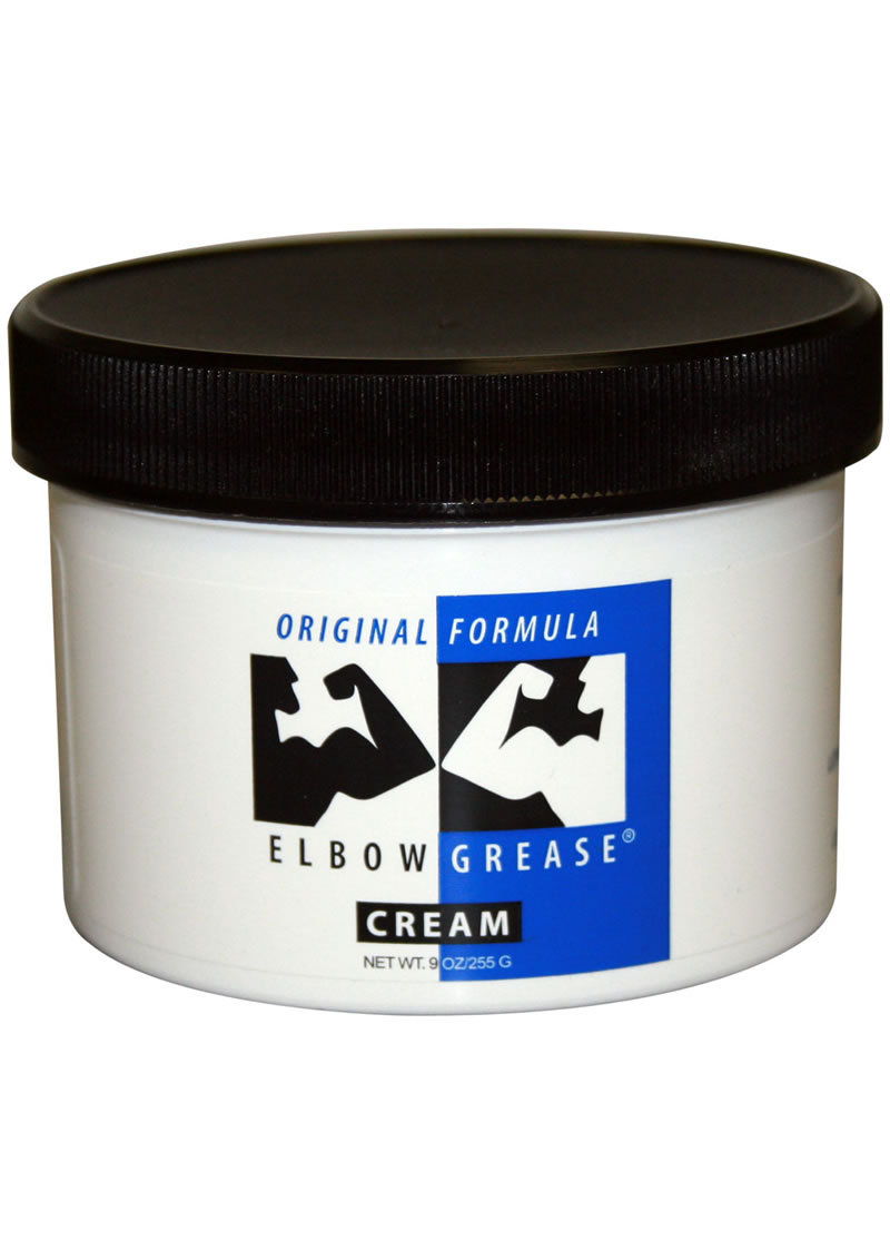 Elbow Grease Original Formula Cream Lubricant 9 Ounce
