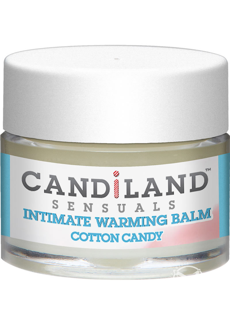 Candiland Sensuals Intimate Warming Balm Cotton Candy .25 Ounce